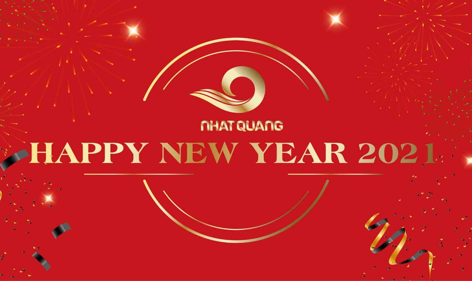 Thép Nhật Quang chúc mừng năm mới 2021