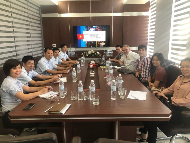 """Thép Nhật Quang trở thành một trong 25 doanh nghiệp tham gia """"Giai đoạn hỗ trợ chuyên sâu"""" của Chương trình thí điểm phát triển nhà cung cấp (SDP) do WBG thực hiện"""
