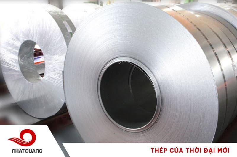 Thép cuộn mạ kẽm có bề mặt nhẵn bóng, khả năng chống ăn mòn, chống va đập và độ bền cao