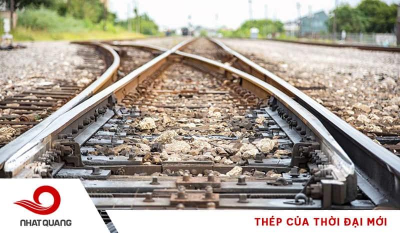 Ứng dụng của thép để sản xuất thanh ray đường sắt