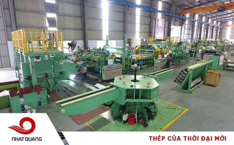 Dây chuyền công nghệ sản xuất thép tấm inox Thép Nhật Quang