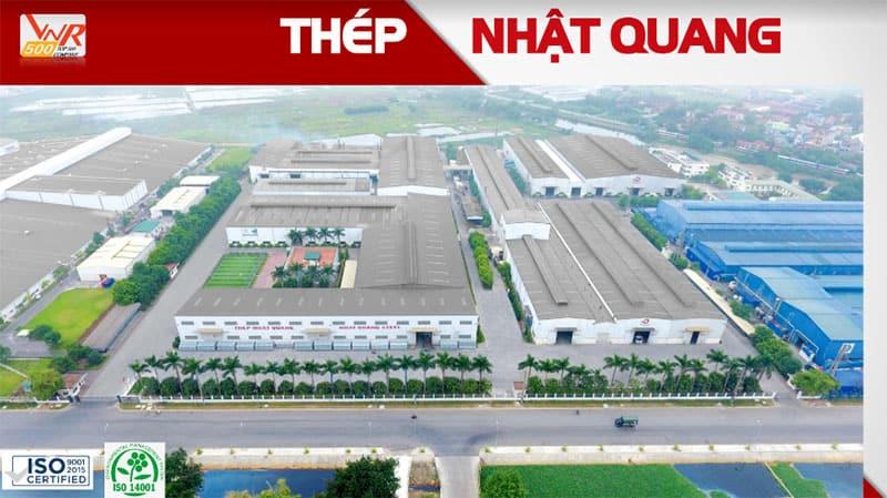 Nhà máy sản xuất Thép Nhật Quang