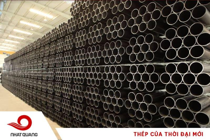 Sản phẩm ống thép đen, ống áp lực của Nhật Quang