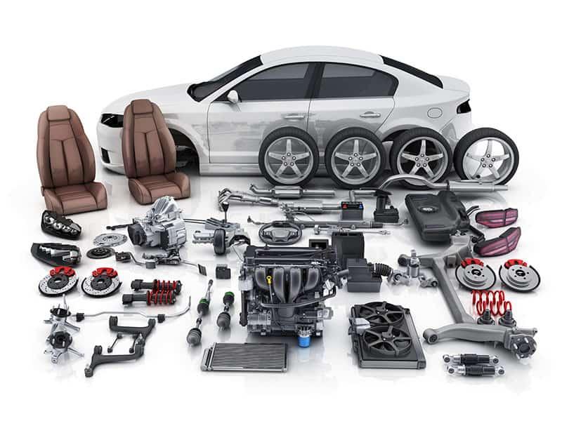Rất nhiều loại phụ tùng ô tô được sản xuất từ thép cuộn cán nguội