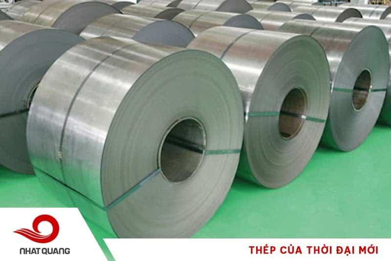 Thép cuộn cán nguội là vật liệu thường gặp trong ngành công nghiệp xây dựng