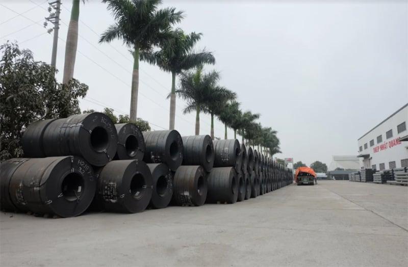 Thép cuộn cán nóng dễ uốn và có khả năng chịu tải trọng lớn
