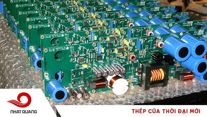Ứng dụng thép trong ngành sản xuất mạch điện
