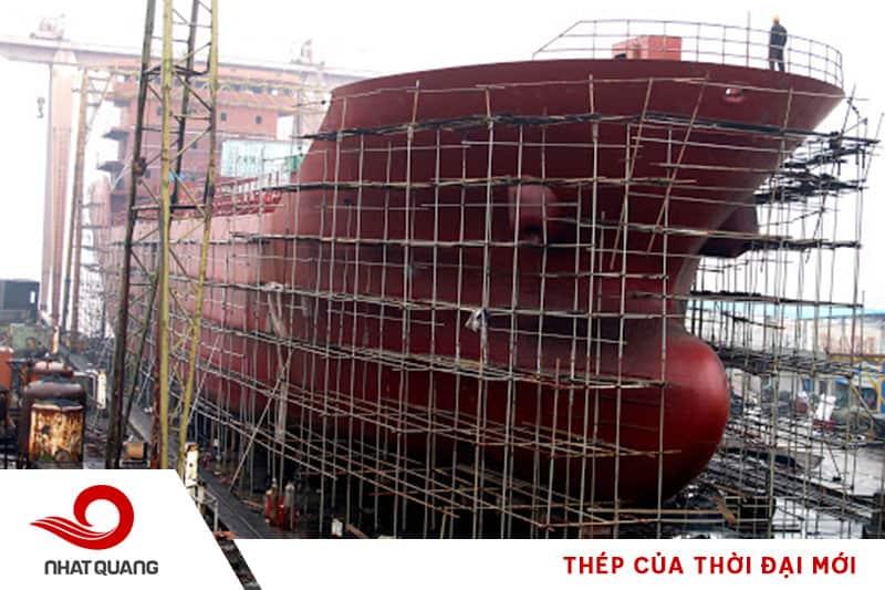 Thép không thể thiếu trong sản xuất tàu thủy