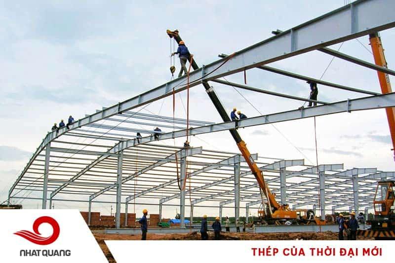 Ứng dụng của thép trong xây dựng nhà để xe 5 sao tại Sân bay Tân Sơn Nhất